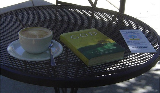 Learning about Love with books and coffee